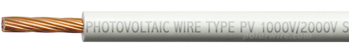 Polar Wire 10 gauge 1000V/2000V Solar Photovoltaic Wire